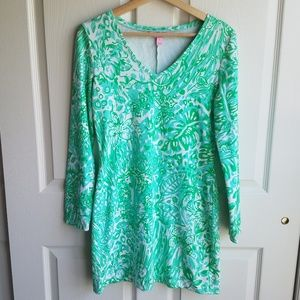 Lilly Pulitzer French Terry Daylin Dress Size S
